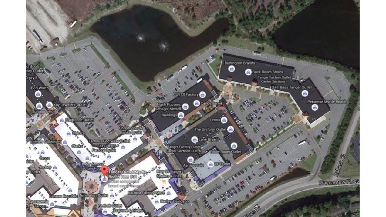 6-week-old drowns in pond at Tanger Outlet near Myrtle Beach