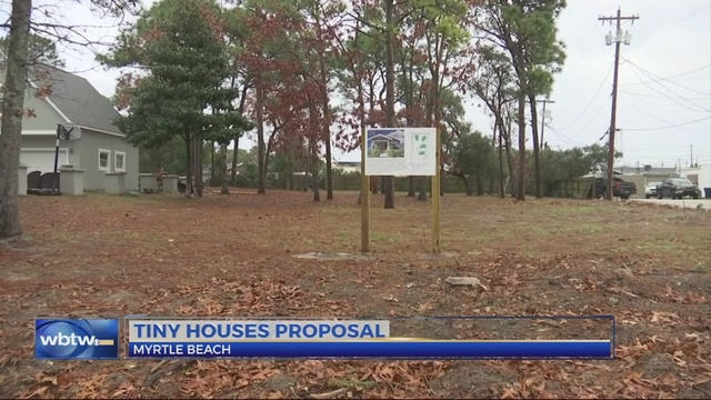 Myrtle Beach City Planners Wont Recommend Tiny House Proposal Wbtw