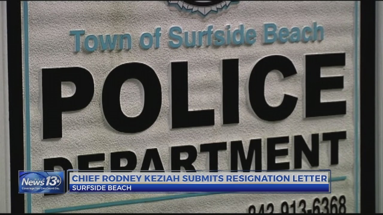 community reacts to surfside beach police chief resignation