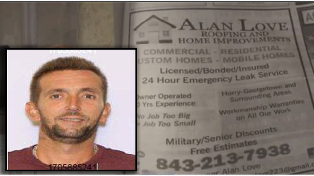 Warrant issued for Horry County contractor accused of abandoning work