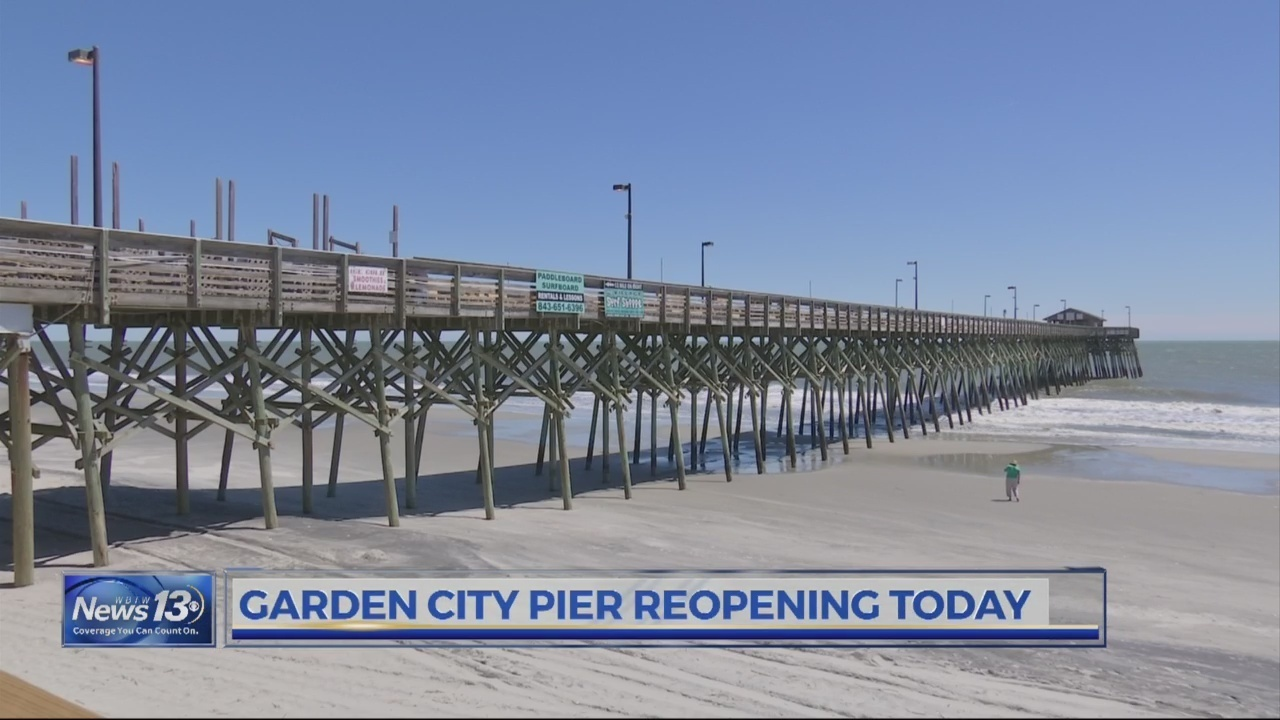 Garden City Celebrates Re Opening Of Pier Damaged In Hurricane
