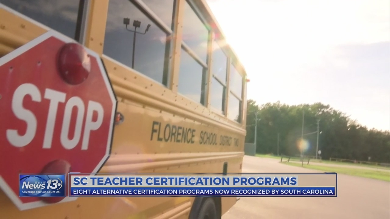 Florence District 2 Plans For Alternative Certification Programs To