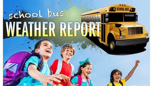 StormTracker13 School Bus Stop Forecast