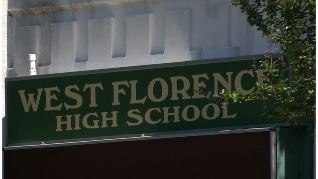 West Florence High School principal signed a fill-in-the-blank resignation letter