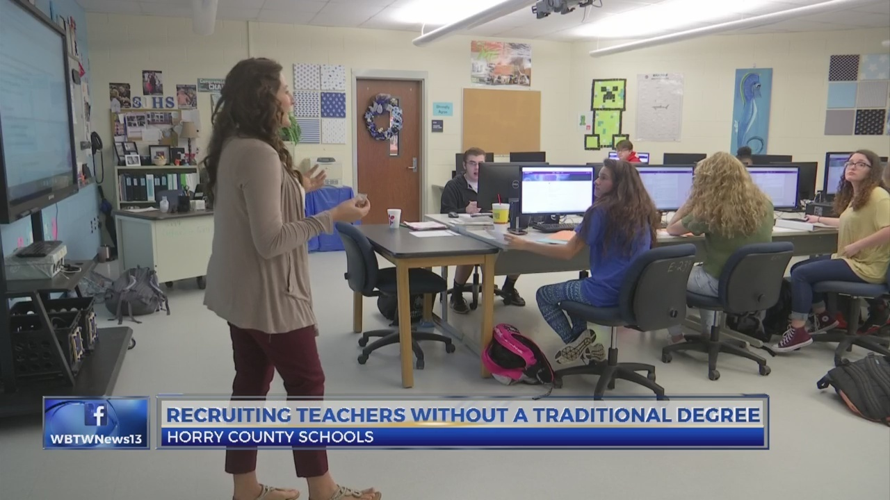Horry County Schools Recruiting People Without Traditional Teaching