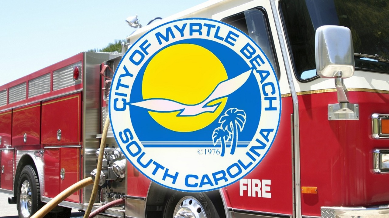 Image result for City of Myrtle Beach considering technology to change traffic lights for fire crews