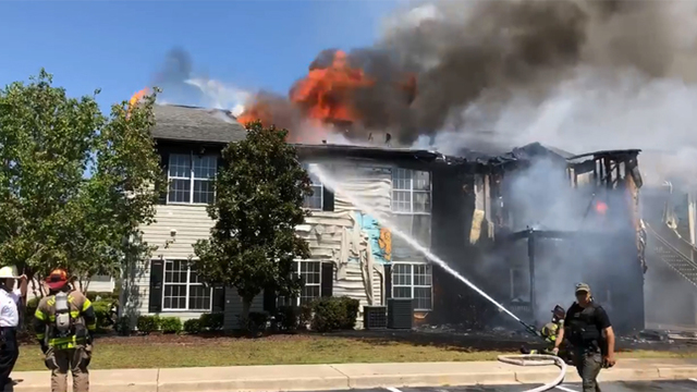 Fire damages 8 units at Brittany Place in Florence