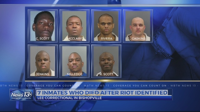 Officials: Lee Correctional riot ignited over territory, contraband