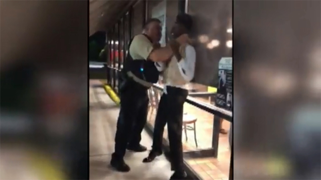 Community pushes back over officer conduct in Waffle House video