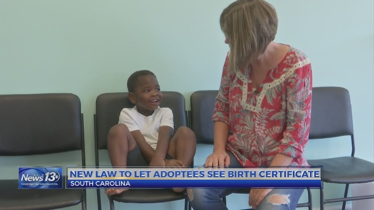 A New Sc Law Allows Adoptees To See Their Birth Certificate