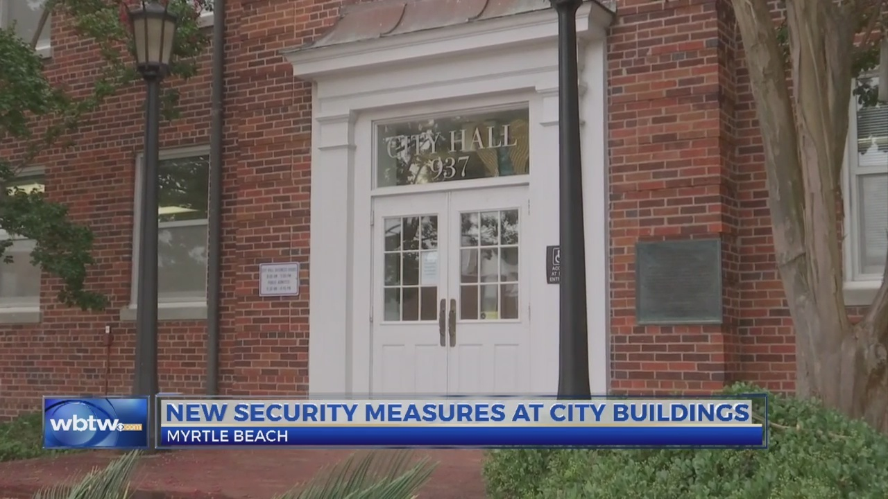 City Of Myrtle Beach Hires Security Officers For Hall Services Building