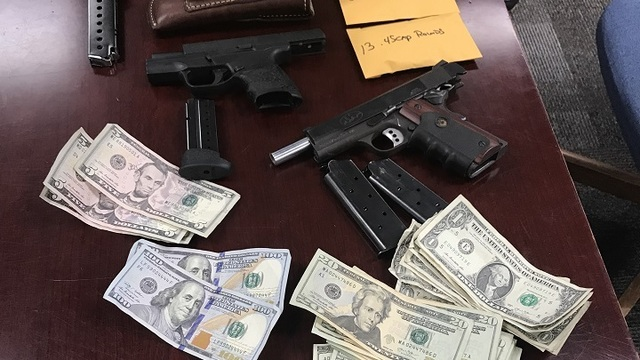 2 Charged After Drugs Guns Money Seized From House In Myrtle Beach