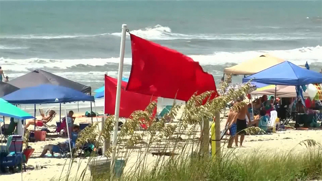 10 photos that leave no doubt a hurricane is headed to Myrtle Beach