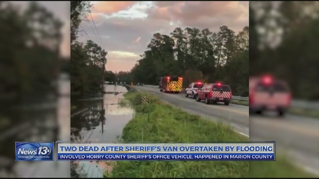HCSO transport vehicle overtaken by water in Marion County recovered