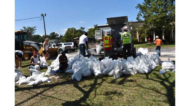 Sandbags available Saturday for Georgetown County residents