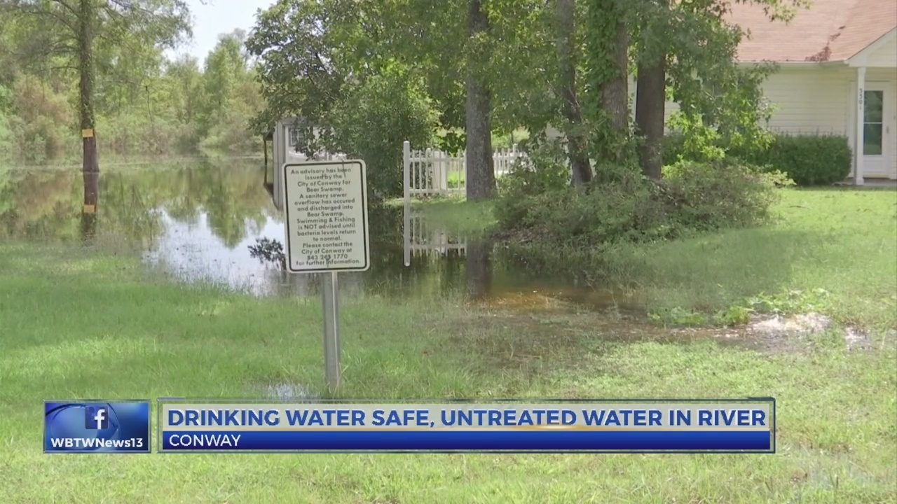 Drinking Water In Conway Is Safe After Untreated Water Flows Into