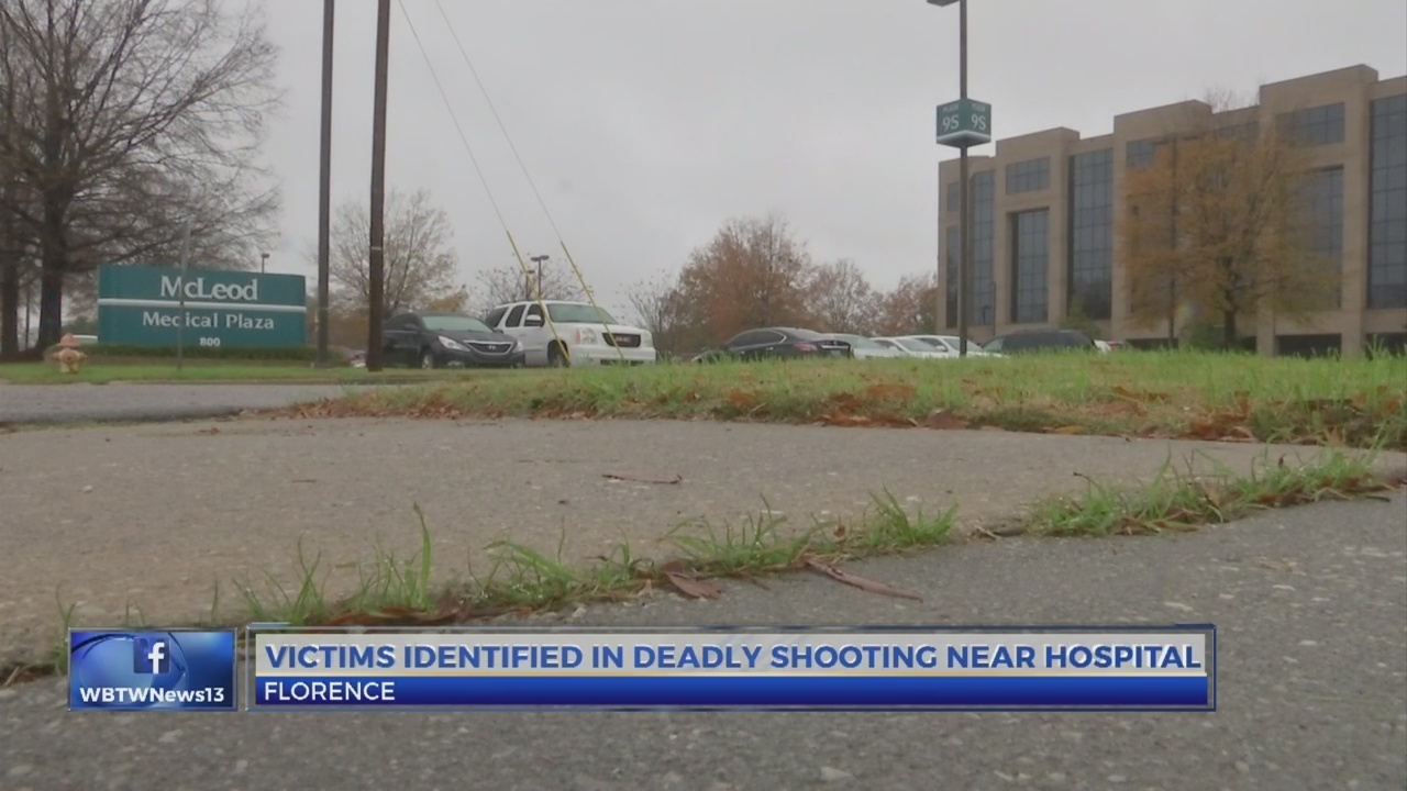 victims identified in shooting near McLeod hospital