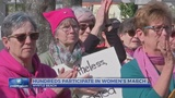 Hundreds advocate for change at the 2nd Annual Myrtle Beach Women's March