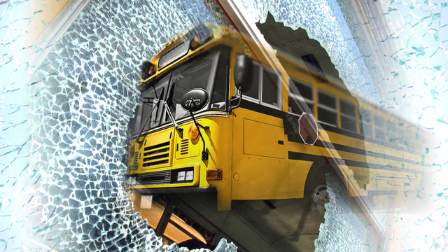 Driver cited for crash involving school bus in Robeson County; 25 children on bus at time of crash