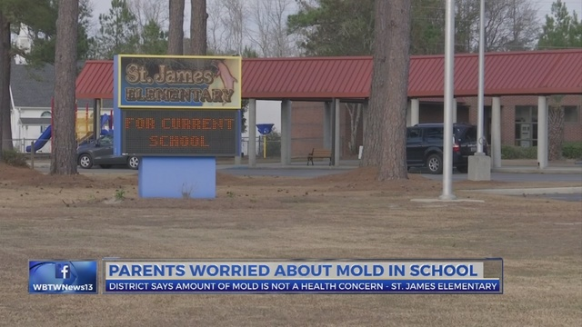 School district releases plan going forward amid mold concerns at St. James Elementary