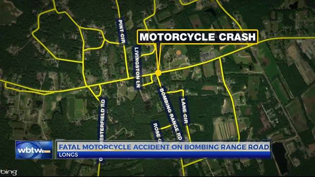 Fatal accident on Bombing Range Road