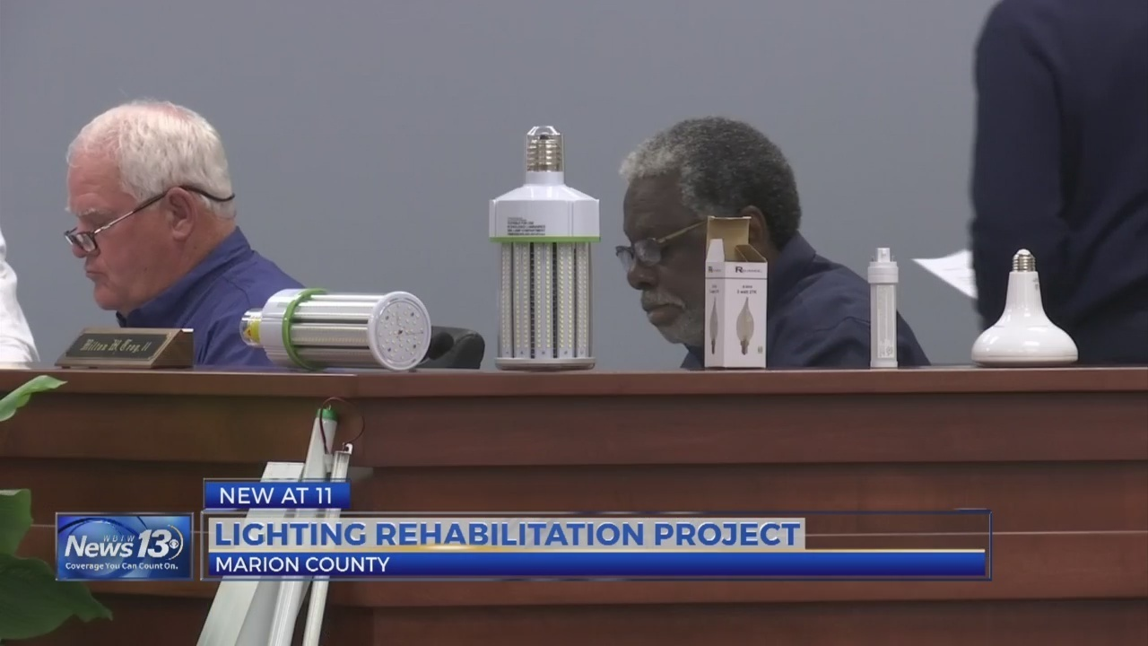 Marion County upgrading buildings with LED lights for safety