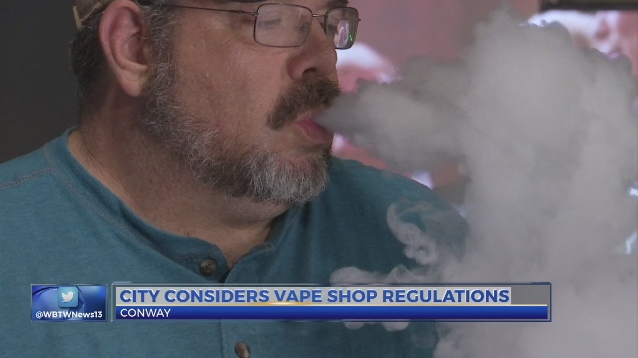 Conway considers zoning restrictions for vape shops