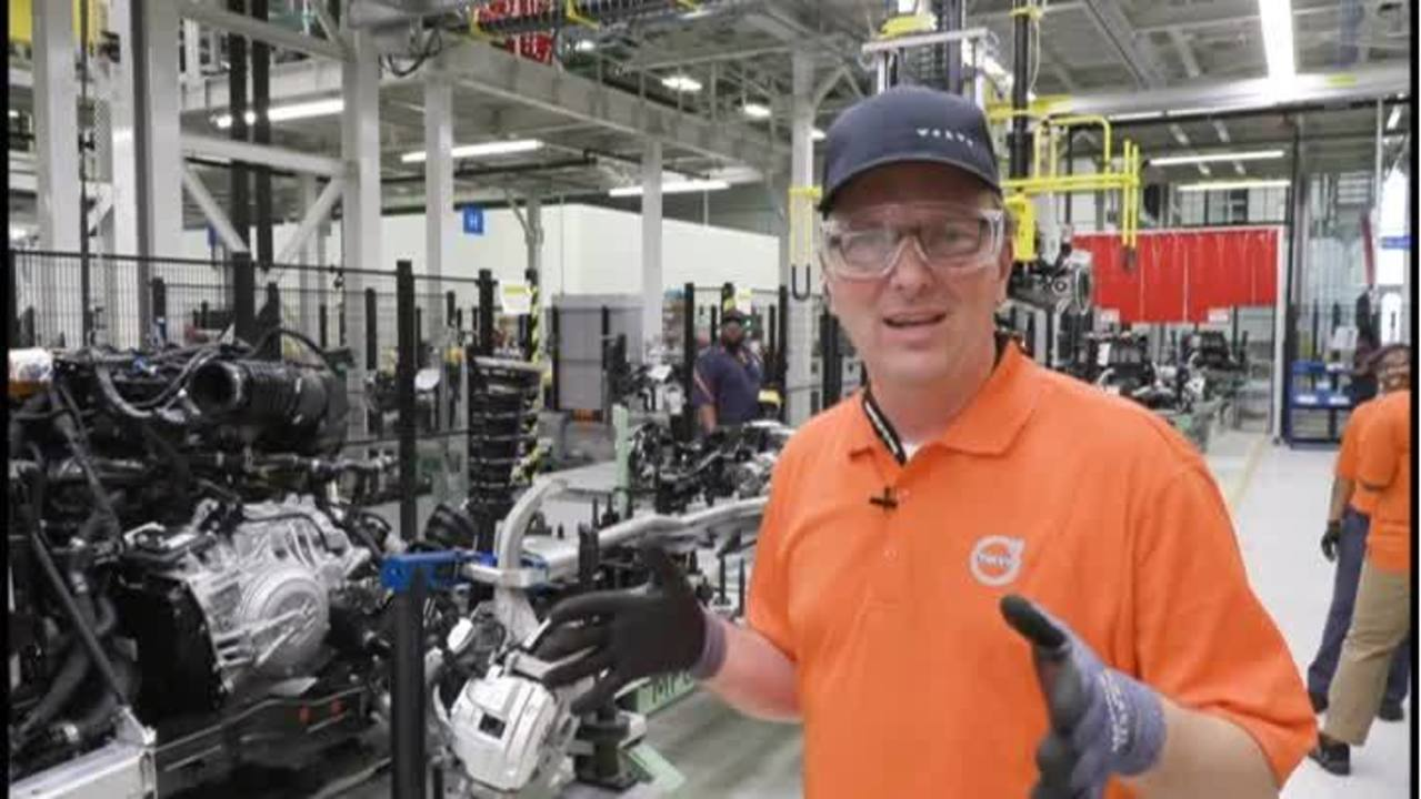 b3788ada1ad2 Take an exclusive look at Volvo s assembly line in South Carolina