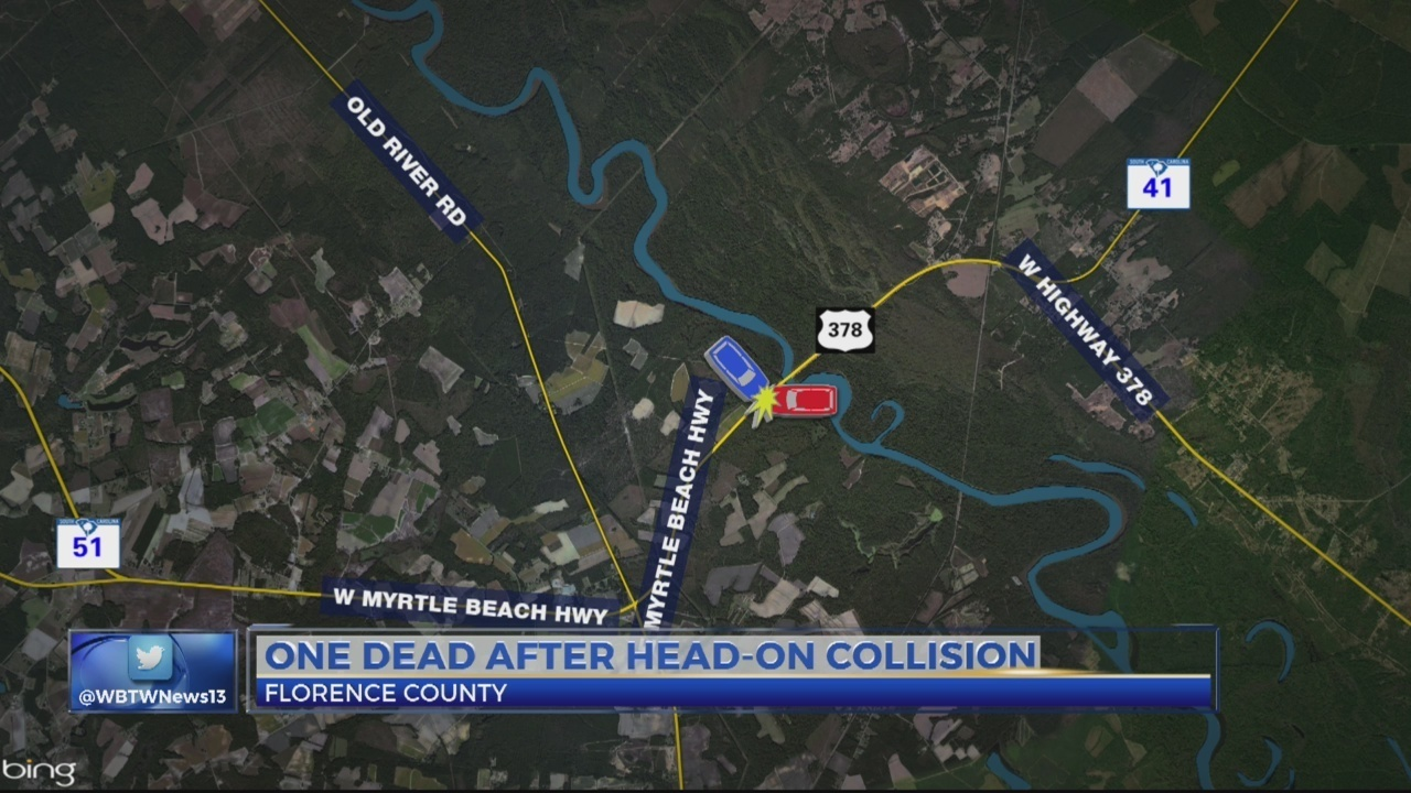 One Dead After Head On Collision In Florence County