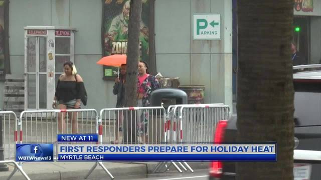 Myrtle Beach firefighters, hospital prepare for hot weather